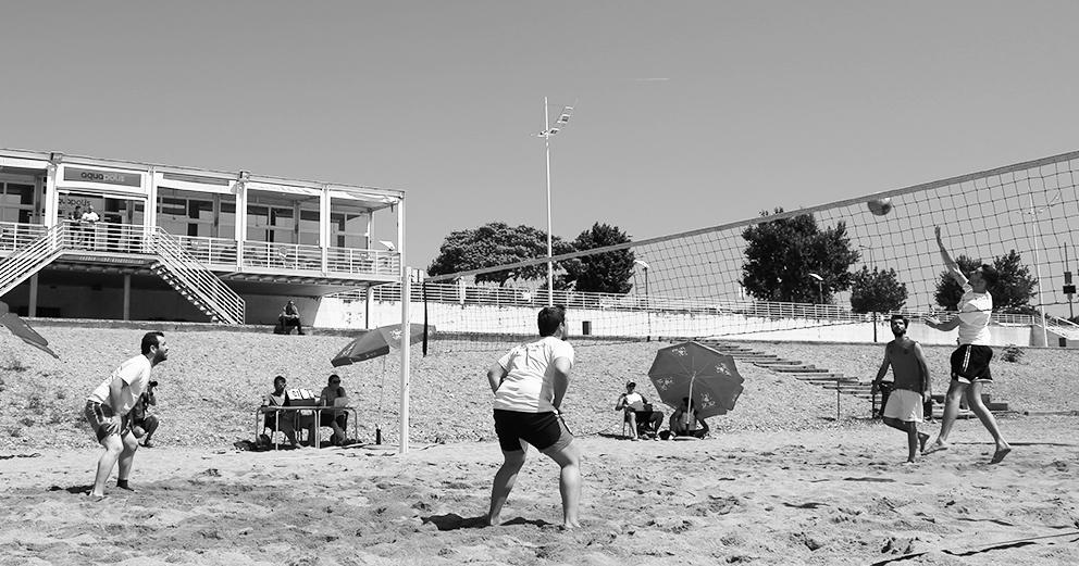 Torneio de voleibol de praia
